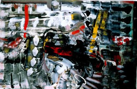 Terranostra, oil on canvas, 10' x 20', c. 1986